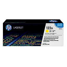 HP 122A Yellow Original Toner Cartridge