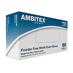 Tradex International Powder Free Nitrile Exam