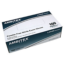 Tradex International Powder Free Nitrile Exam