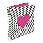 Divoga Heart Binder 1 Rings Pink