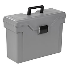 Office Depot Plastic Mobile File Box