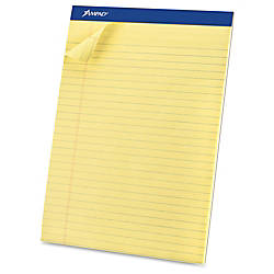 Ampad Basic Perforated Writing Pads 50