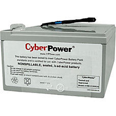 CyberPower RB12120X2A UPS Replacement Battery Cartridge