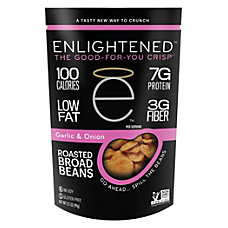 Enlightened Broad Bean Crisps Garlic 35