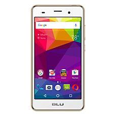BLU Dash X2 Cell Phone Gold