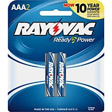Rayovac Alkaline AAA Batteries AAA Alkaline