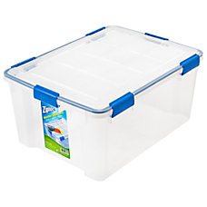 Ziploc Weathertight Storage Box 60 Quart