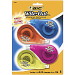 BIC Wite Out Correction Tape Pack