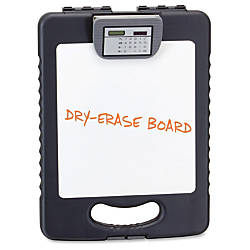 OIC Deluxe Tablet Clipboard Case Charcoal