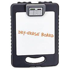 OIC Storage Clipboard Charcoal