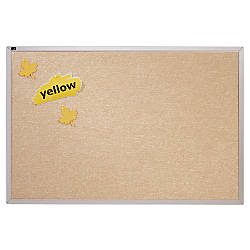 Quartet Vinyl Tack Bulletin Board With