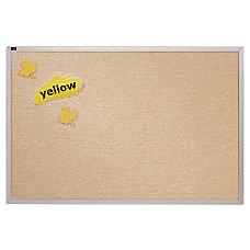 Quartet Vinyl Tack Bulletin Board With