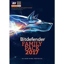 BitDefender Family Pack 2017 For Unlimited