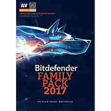 BitDefender Family Pack 2017 For Unlimited
