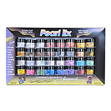 Jacquard Pearl Ex Powdered Pigments Assorted