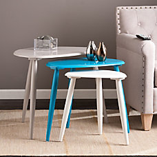 Southern Enterprises Tatum Nesting Tables Triangle