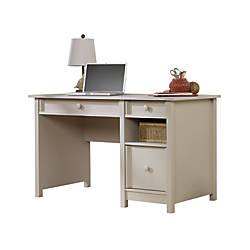Sauder Cottage Desk Cobblestone Gray