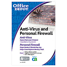 Office Depot Brand Anti Virus Personal