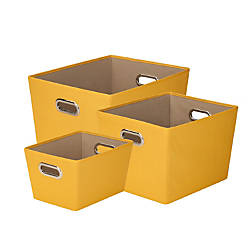 Honey Can Do Tote Kit Yellow