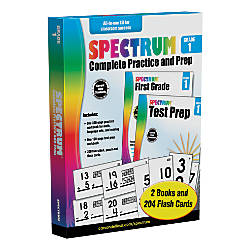 Spectrum Complete Practice And Prep Kit