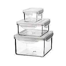 Tritan Food Storage Container Sets 6