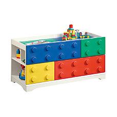 Sauder Primary Street Collection Toy Block