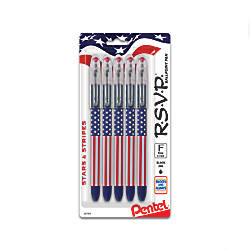 Pentel RSVP StarsStripes Edition Ballpoint Pen