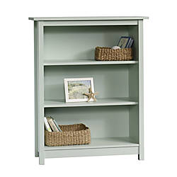 Sauder Cottage 3 Shelf Bookcase Rainwater