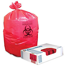 Heritage Healthcare Biohazard Can Liners 40