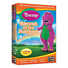 Barney Secret Of The Rainbow For