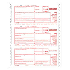 ComplyRight 1099 S Tax Forms Continuous