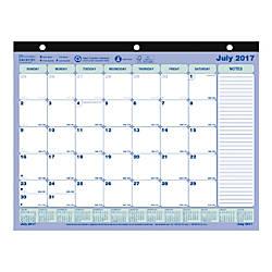 Brownline 13 Month Academic Desk Pad