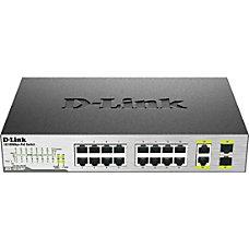 D Link DES 1018MP 18 Port