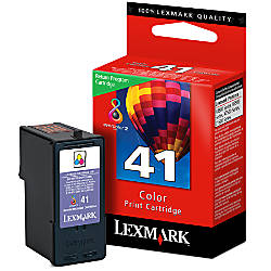Lexmark 41 Color Ink Cartridge