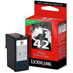 Lexmark 42 Black Ink Cartridge