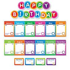 Color Your Classroom Birthdays Mini Bulletin