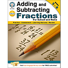 Mark Twain Adding and Subtracting Fractions