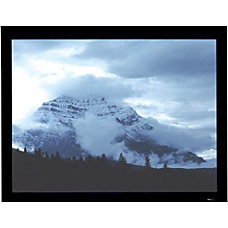 Draper Onyx Fixed Frame Projection Screen