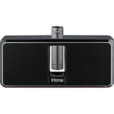 iHome iKN150B Portable Rechargeable Wireless Stereo