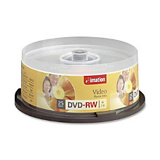 Imation S6561175 DVD RW Disc Spindle