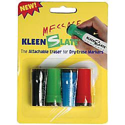 KleenSlate Eraser Caps For Small Dry