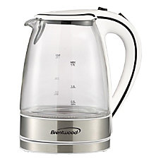 Brentwood 17L Borosilicate Glass Tea Kettle