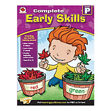 Carson Dellosa Complete Early Skills Workbook