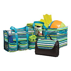 Global 3 Piece Tote And Blanket