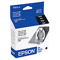 Epson T0331 T033120 Black Ink Cartridge