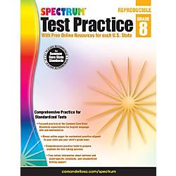 Spectrum Test Practice Workbook Grade 8
