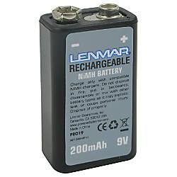 Lenmar Nickel Metal Hydride 9 Volt