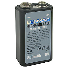 Lenmar Nickel Metal Hydride 9 Volt