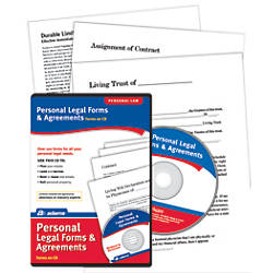 Adams Personal Legal Forms And Agreements