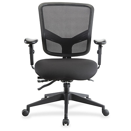 Lorell Executive Chair Black 26 8 Width X 28 5 Depth X 39 5 Height By Office